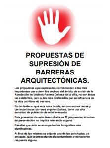 Informe barreras